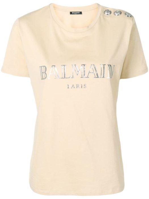 e2033bde T-Shirts Balmain Donna - Shop online T-Shirts Balmain Donna