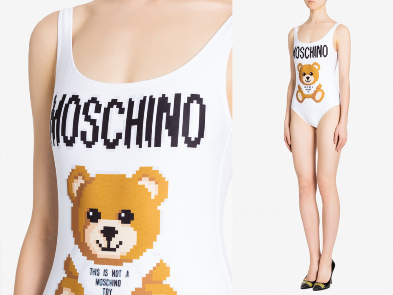Costumi da bagno Moschino 2019